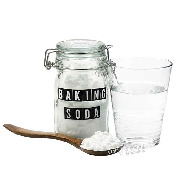 trị hôi nách bằng baking soda