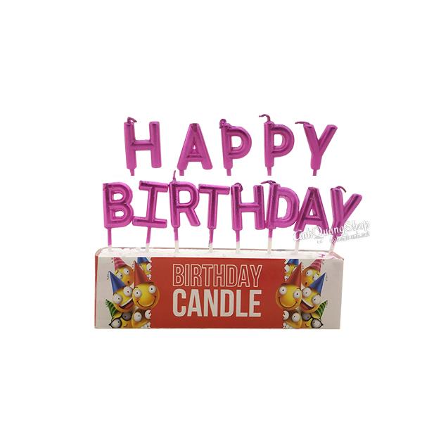 Nến happy birthayday