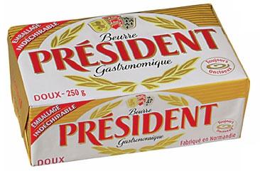 Bơ President 250 gram