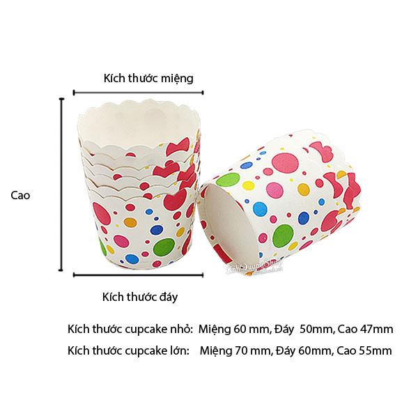 Cupcake Cham Bi 3 Fn