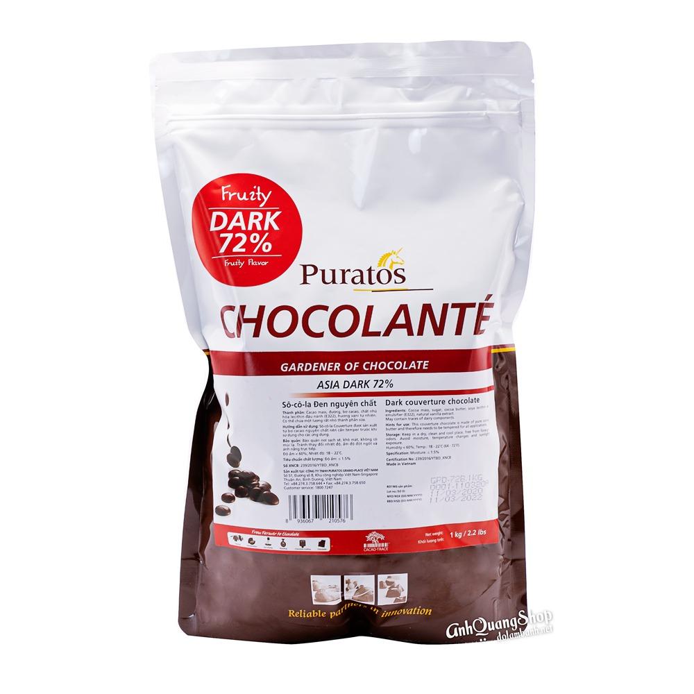 Socola Nut 72%