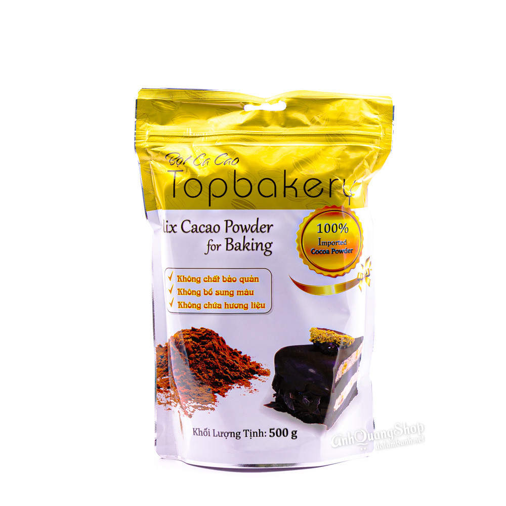 Bột cacao top bakery 500g