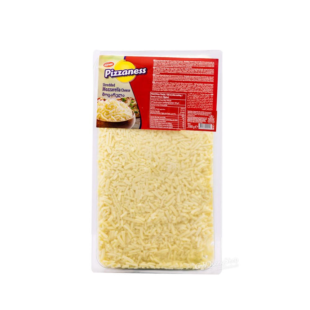 Mozzarella bào Pizzaness 2kg